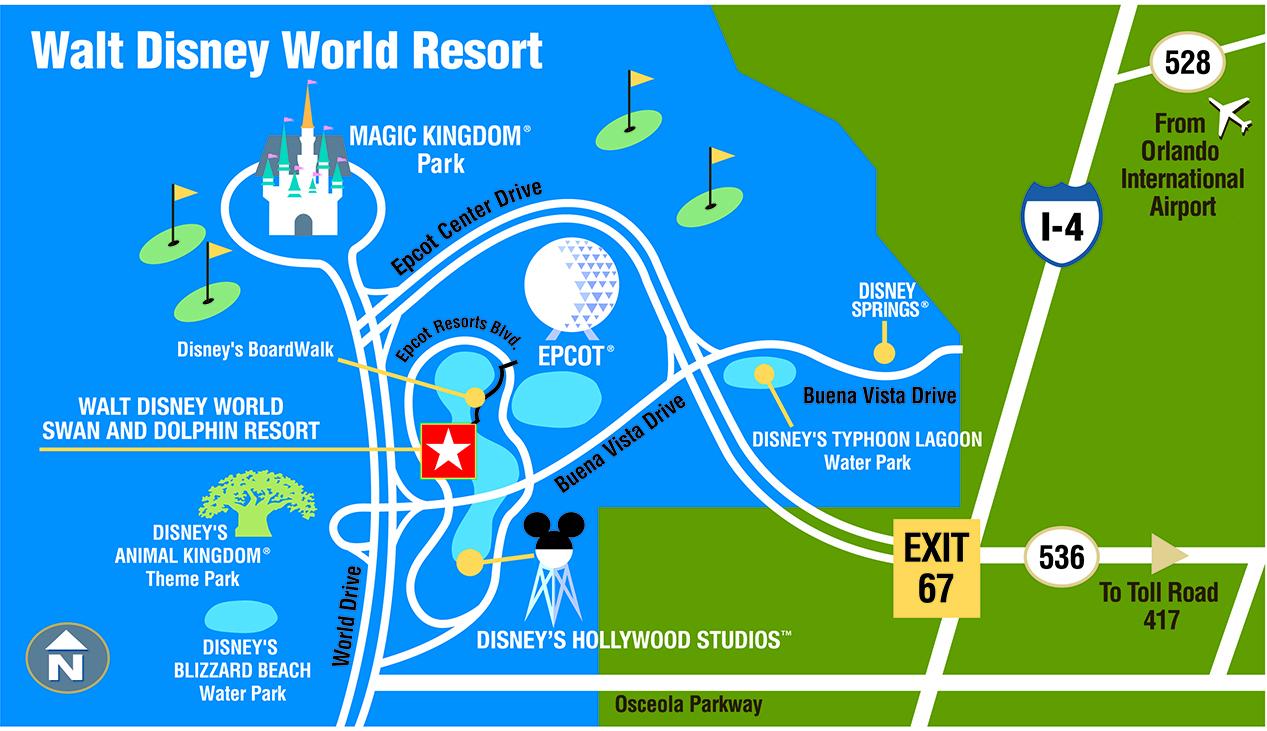 Walt Disney World Swan and Dolphin on